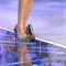 Bianca Guaccero piedi e scarpe Detto Fatto 15-10-2019