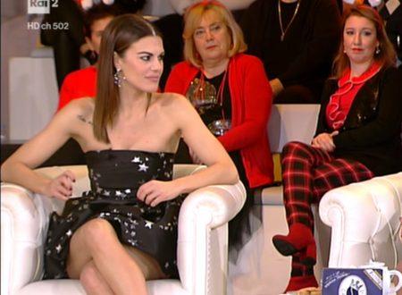 Bianca Guaccero nell'ultima puntata del 2019